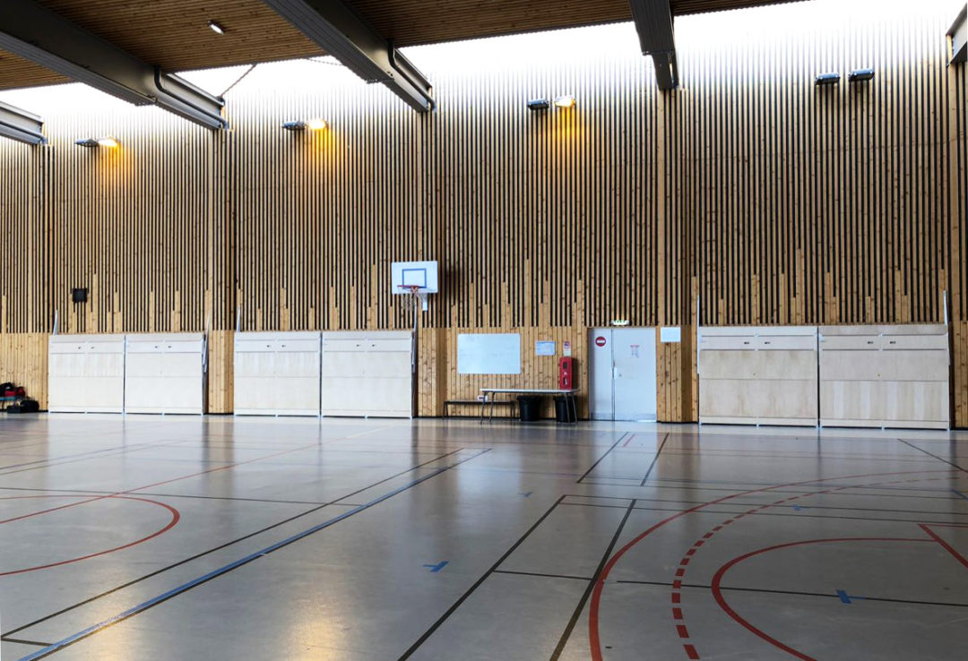 Tribunes 3 rangs à Villeneuve la Garenne (93)